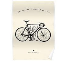 I want to ride Poster