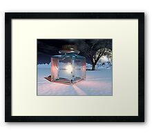 Jar of Light Framed Print