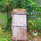 A roomless door by Karen Larsson