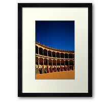 Plaza de Toros de Ronda Framed Print