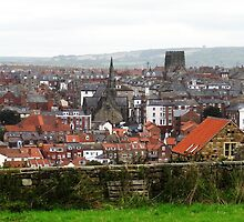 """UK: """"Rooftops of Whitby"""", North Yorkshire by Kelly Sutherland"""