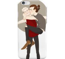 Brothers in Open Arms iPhone Case/Skin