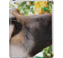 Sniff the Flowers iPad Case/Skin