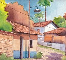 A day in the village by faustoraulperez