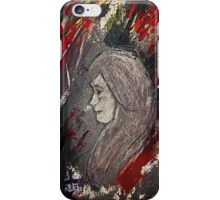 Lady in the Paint iPhone Case/Skin