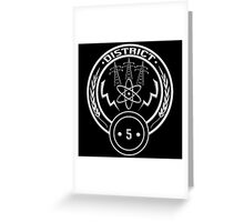 District 5 - Power Greeting Card