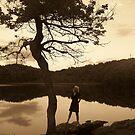 Elizabeth At Berry Pond by ChereeCheree