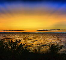 Sunrise over Troubled Waters by Chintsala