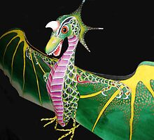 Silk Chinese Dragon Kite by jansnow