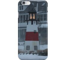 Snowy Afternoon at the Bluff iPhone Case/Skin