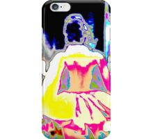PRINCESS ABSTRACT,  bright colored textile, gifts, decor iPhone Case/Skin