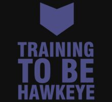 Training to be Hawkeye - Kate Bishop / Clint Barton by mashedelephants