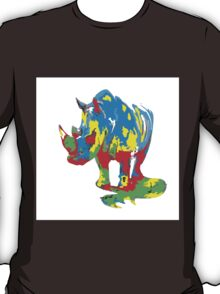Pop Art Rhino T-Shirt