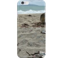 Langs Beach, New Zealand - New Year's Day 2015 iPhone Case/Skin