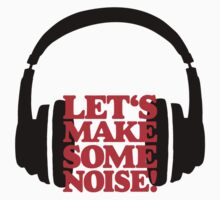 Let's make some noise - DJ headphones (black/red) Kids Clothes