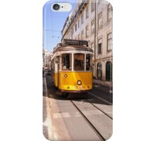 Lisbon tram iPhone Case/Skin