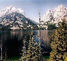 Jenny Lake, Grand Teton National Park, Wyoming by Ed Moore