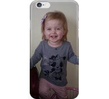 Laicey Aged 21 months iPhone Case/Skin