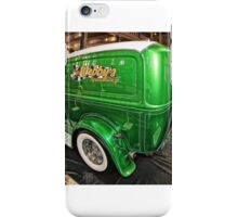 Webby's Speed Shop Rear iPhone Case/Skin
