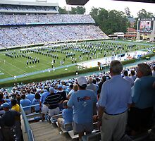 tarheels opening day 2008 by mike schronce