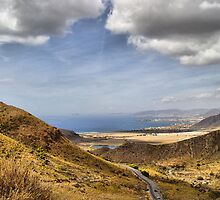 Road to Puerto de Mazarron by Squealia