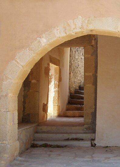 Where do the Steps Lead! - Card by emele