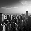 Manhattan Skyline with Empire State Building (Alan Copson ) by Alan Copson