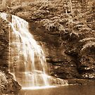 Bushkill Falls by midnightowl