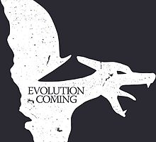 Evolution is Coming - Charizard (White) by Jonkers