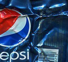 Pepsi Cola - Crushed Tin by Jovan Djordjevic