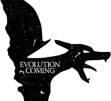 Evolution is Coming - Charizard (Black) by Jonkers