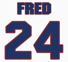 National football player Fred Weary jersey 24 by imsport