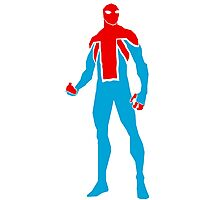 Spider-UK Photographic Print