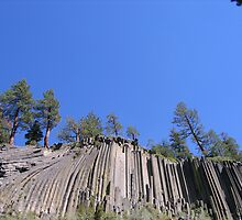 Devil's Postpile by Luke Brannon