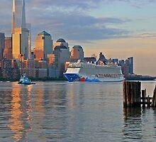Cruise Ship Norwegian Breakaway by pmarella