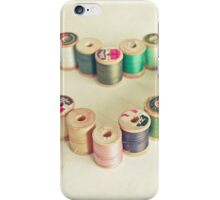 I Heart Sewing iPhone Case/Skin