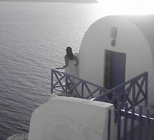 Sunset at Oia, Santorini by justineb