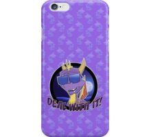 Spyro 'Deal With It!' iPhone Case/Skin