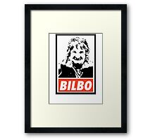 Hobbit - Bilbo Framed Print