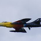 "Hawker Hunter ""Miss Demeanour"" by Martin  Egner"