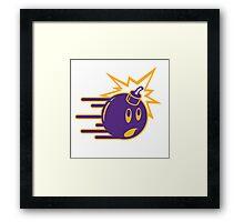 The Hundreds Purple Framed Print