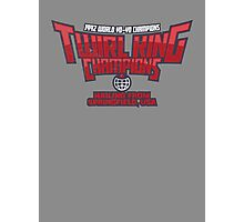 Twirl King Champions Photographic Print