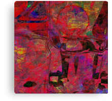 1476 Abstract Thought Canvas Print