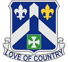 58th Infantry Regiment - Love Of Country Photographic Print
