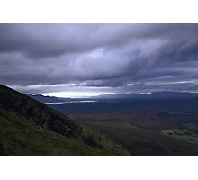 dingle and the lakes of killarney from the Derrynasaggart mountains Photographic Print