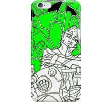 mecha delinquent iPhone Case/Skin