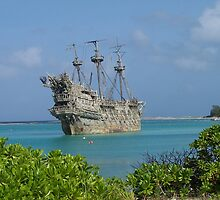 The Flying Dutchman at Disney's Castaway Cay by LindaMac
