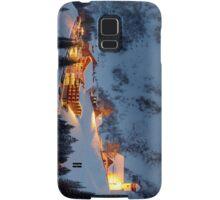 Skiing Resort Samsung Galaxy Case/Skin