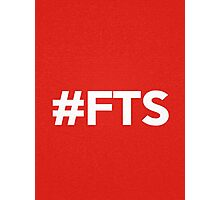#FTS - Red Photographic Print