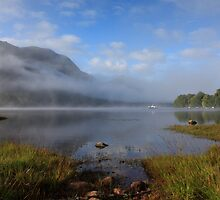 Loch Shiel from Glenfinnan. by John Cameron
